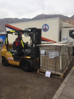 Photo of Vila´s Motor colabora en la descarga de nuevos insumos sanitarios en el hospital de Iquique
